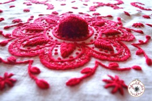 Guimaraes Embroidery central detail