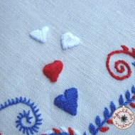 little hearts Viana Embroidery