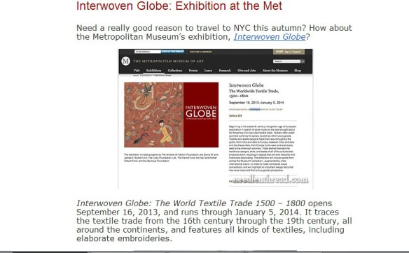 http://www.needlenthread.com/2013/09/interwoven-globe-exhibition-at-the-met.html