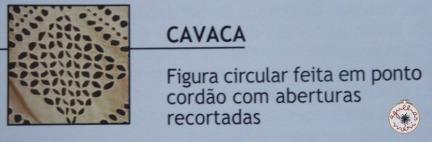 """Cavaca"" - circular motif made in cordonet(?)with cur openings"