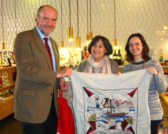 George Sandman and the Scottish Diaspora Tapestry
