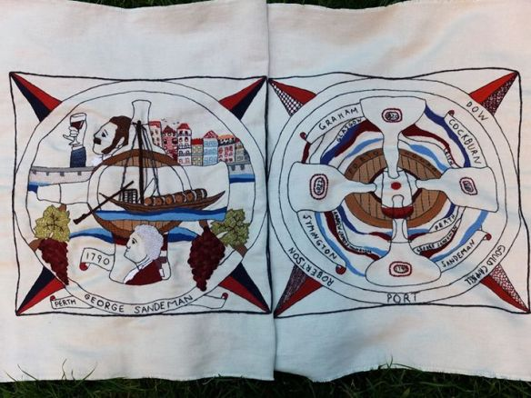 Scottish Diaspora Tapestry -  Porto e Lisboa