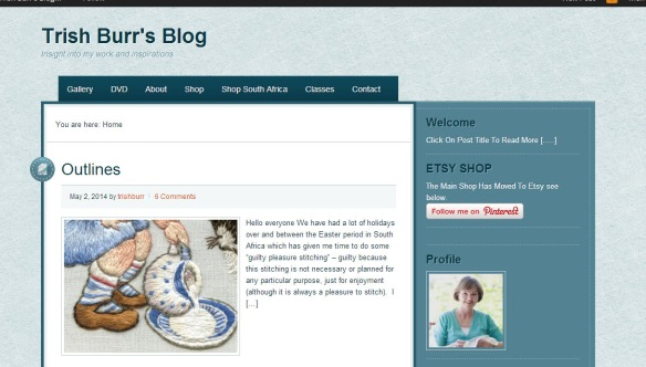 Trish Burr's Blog