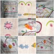 a different stitch sampler