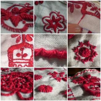 Portuguese embroidery sampler