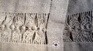 linha linho fina / linha linho grossa linen thrad thin / linen thread thicker