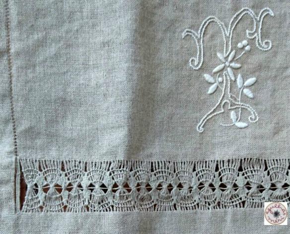 2 toalha de linho T