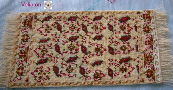 Mini Persian Carpet 004