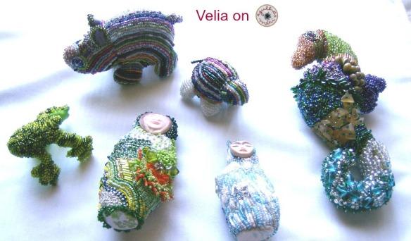 Beaded Work  001by Velia